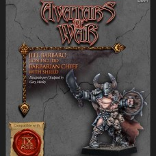 Barbarian Marauder Chief with Shield (AOW71)